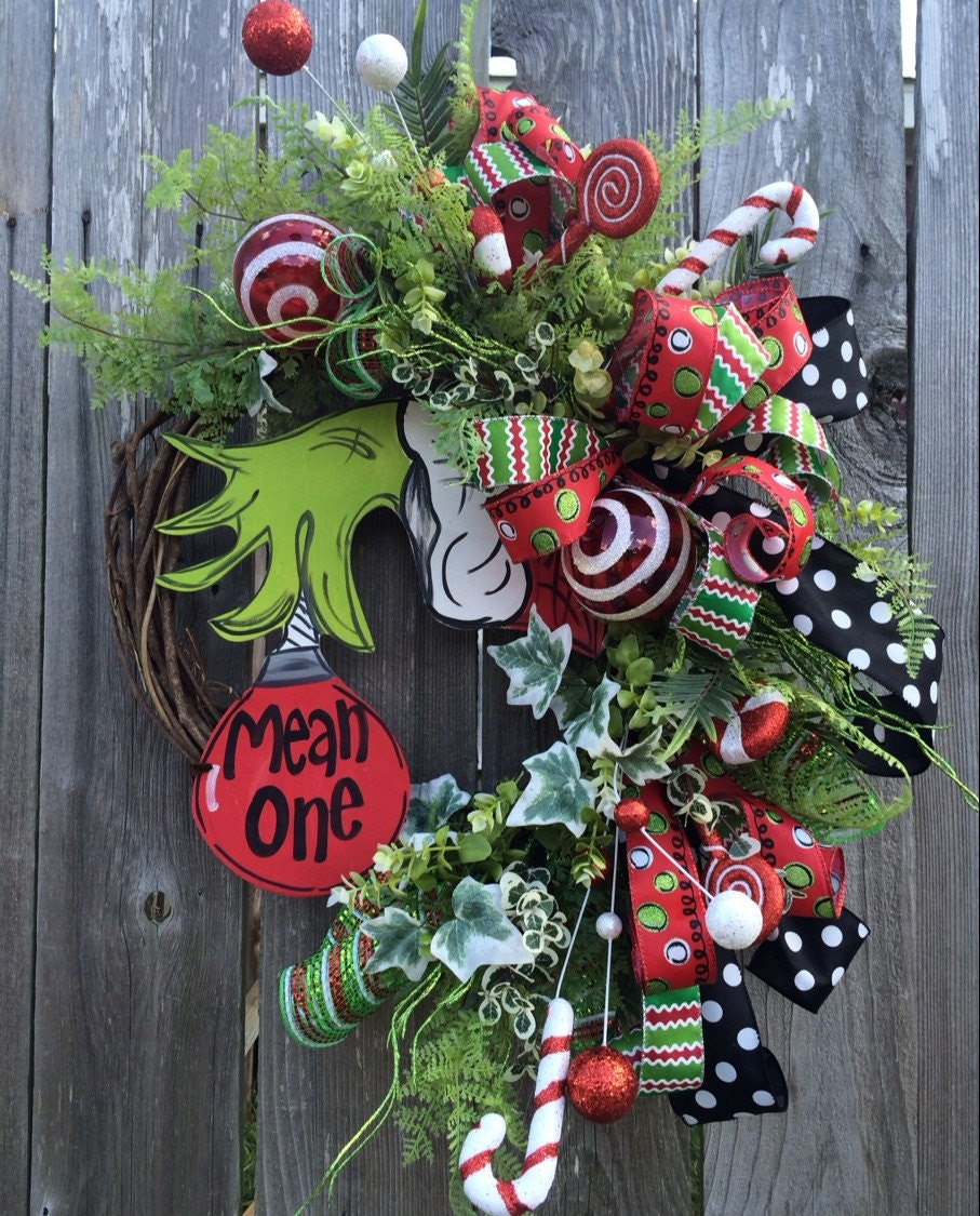 Christmas Wreath Christmas Decor Christmas Door Holiday