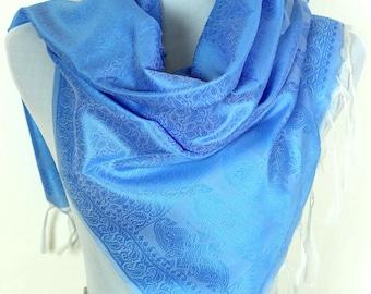 Solid Color Scarf (Sky Blue)