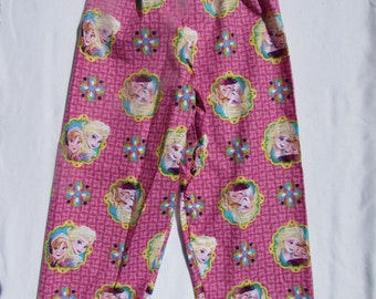 Kids Frozen pajama cotton pants