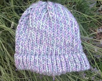 Lavender Wool Hat