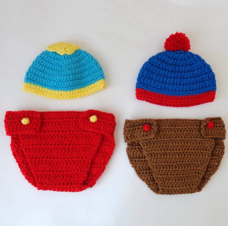 South Park Hat And Diaper Cover Eric Cartman Stan Marsh