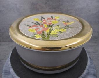The Art of Chokin  24Kt. Gold edged  Trinket  Box