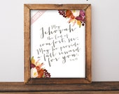 May Jehovah the God of Comfort See Song 85 Wall art New World Translation  Bible Verse Printable