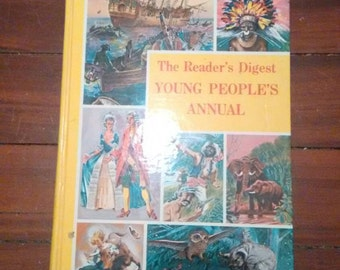 beautiful Readers Digest YOUNG PEOPLES ANNUAL 1964