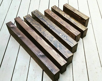 Custom Sizing Chunky Rustic Reclaimed Wood Floating Shelves