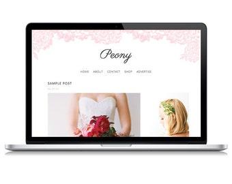 Peony Responsive Wordpress Theme | Instant Digital Download