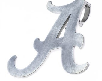Alabama Crimson Tide Couture Pin (Silver Plated)