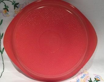 Glasbake PINK glass pie plate - RARE/HTF Color