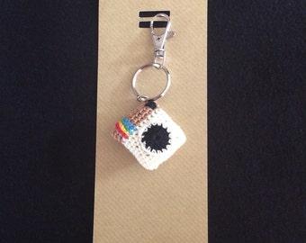 smart phone icon inspired bag charm/keyring/zipper charm