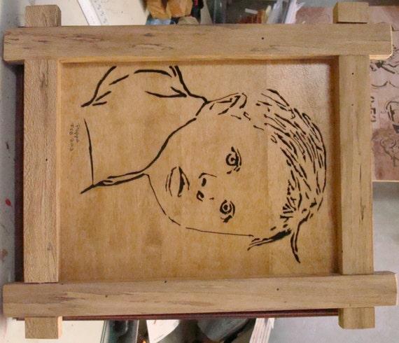 Scrollsaw Workshop: The Fab Four Scroll Saw Portrait Pattern.