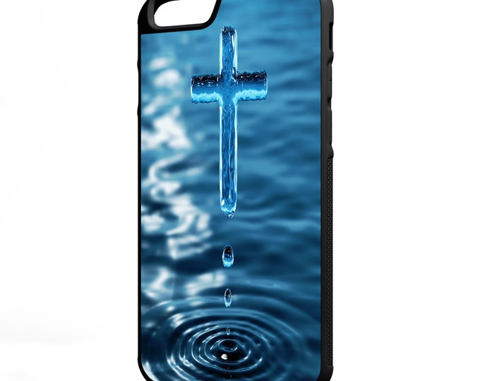 Holy Water Dipped in Faith iPhone Galaxy Note LG HTC Hybrid Rubber Protective Case Christian