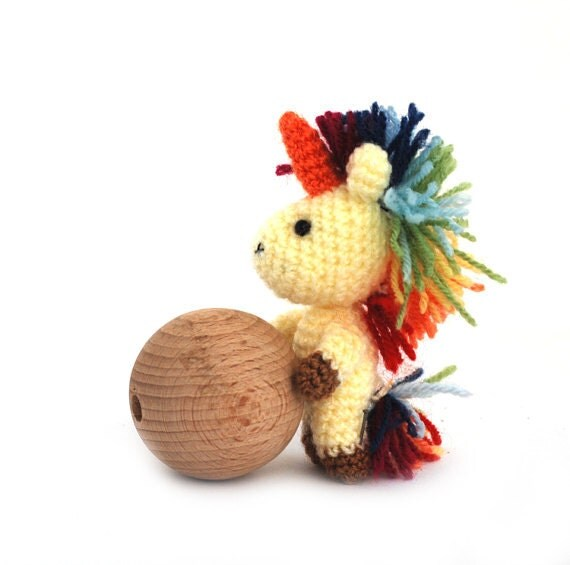 Amigurumi Stuffing : crochet unicorn amigurumi unicorn stuffed unicorn doll