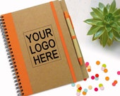 Branded Notebook With Logo, Promotion Gift, Business Gift, Customised Journal, Personalised Notebook, Writing Notebook, Spiral Writing Pad