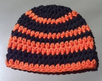 Crochet SF Giants Baby Hat