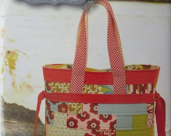 That's How We Roll  Pattern  by Kati Cupcake Pattern Co. Tote Bag Pre-cut Friendly