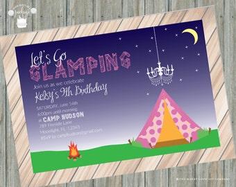 Glamping Invitation