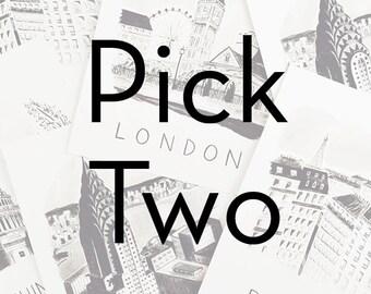 Pick Two -- ANY 8x10 Prints