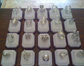 925 Sterling Silver Rings all sizes available .