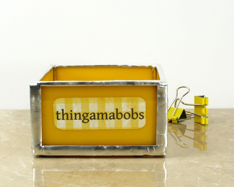 Chandeliers pendant lights - Glass desk organizer ...