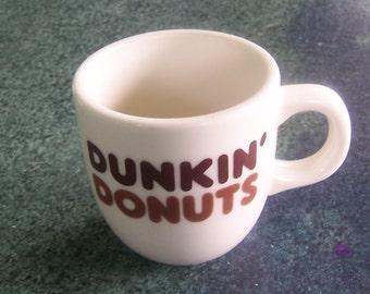 Vintage Rego China Dunkin' Donuts mug