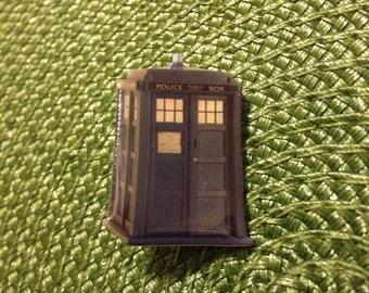 TARDIS Doctor Who Pin Police Box