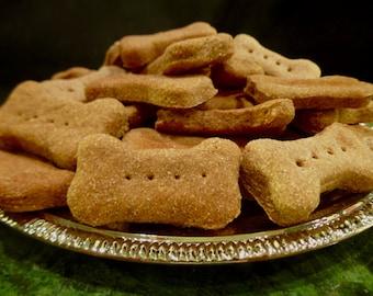 All Natural Gourmet Dog Treats: Homemade Cinnamon Apple Dog Bones