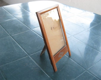 A French Vintage Mahogany Picture/Photo Frame with Glass.