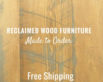 Wood Furniture Montreal | Made to Order | Free Shipping