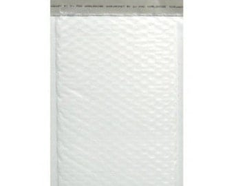 "50 - 4"" x 7.25"" Bubble Mailer Envelopes - Waterproof Mailers - Shipping Supplies - Padded - Plastic - USPS - Packaging - Poly Bubble Mailer"
