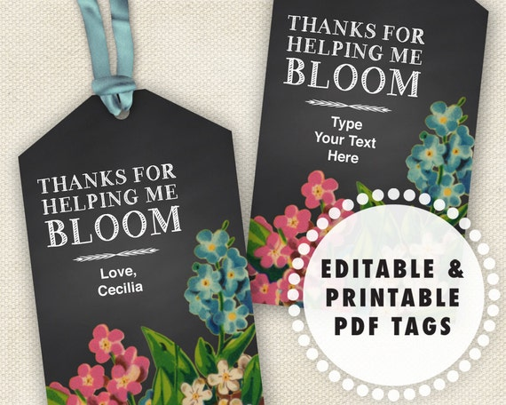 Printable Tags Thanks For Popping By | grcom.info