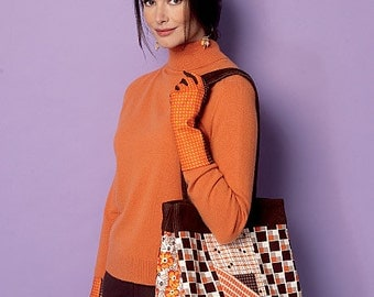 Butterick Sewing Pattern B6264 Totes and Gloves