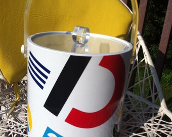 Katja of Sweden pop art ice bucket