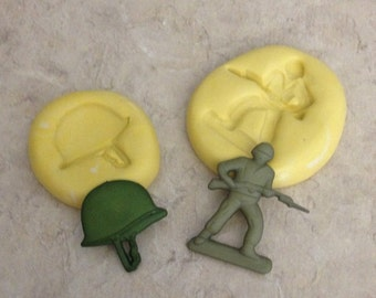 Army Man Set Silicone  mold