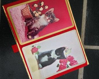 Double Deck of Advertising Cat Cards