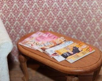 Harpers Bazaar Magazines For Dollhouse