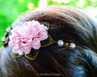 """Vintage Headband / head jewel """"Zara"""""""