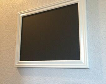 """15""""X 12"""" White Framed Chalkboard"""