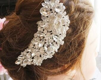 Bridal Hair comb, Bridal Headpiece, Wedding Hair accessories, Rhinestone comb, Wedding comb, Bridal crystal comb, Wedding comb, Hairpiece