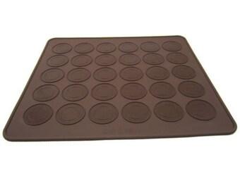 30 capacity Macaron Macaroon Silicone Baking Mat Sheet Oven Baking Mold Cake Decorating Cookies Baking Tools Supplies
