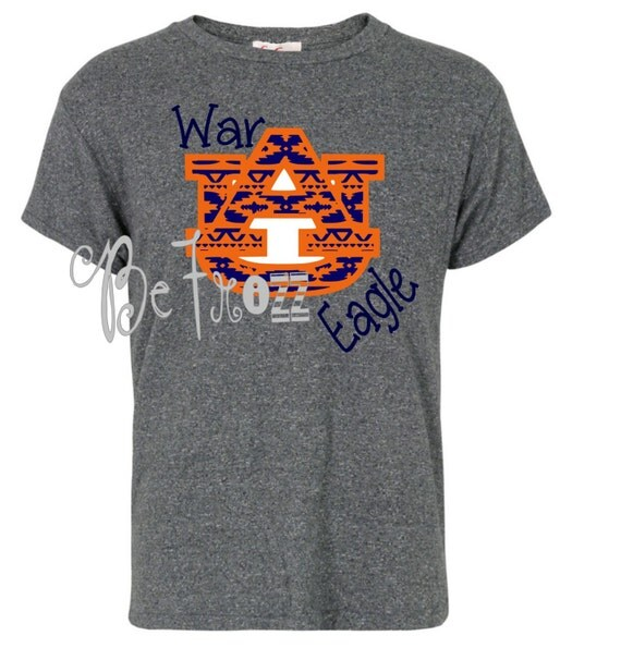 War eagle auburn custom shirt great gift idea game by for Auburn war eagle shirt