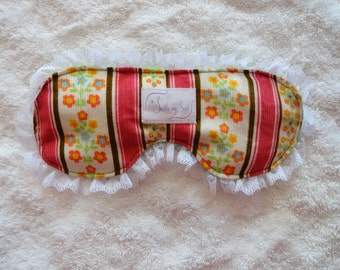 Eye Pillow.  Use it cool to soothe the eye area, great for headaches/ migraine, allergies and relaxation.