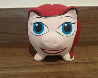 Ariel Piggy Bank