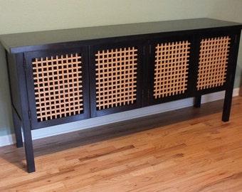 Modern Craftsman style sideboard credenza - Custom Furniture
