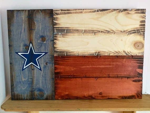 Dallas Cowboys Texas Flag