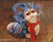 Ello - The Worm - Labyrinth - Art Print