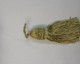 Light Gold Tassels - Decorative Tassels 883