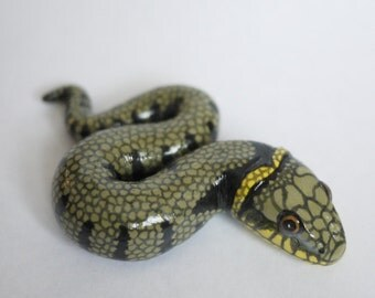 Grass Snake Ornament