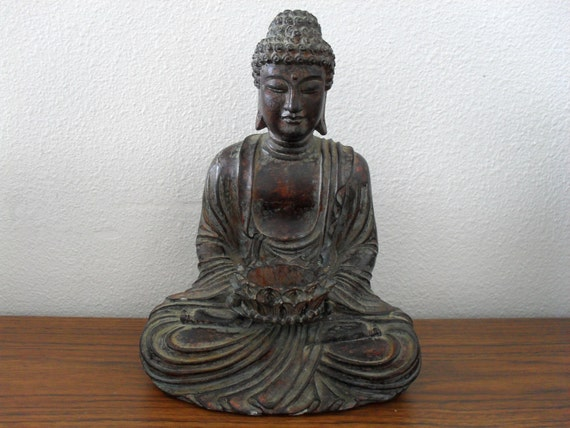 Vintage Buddha Tealight Candle Holder