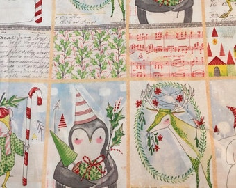Joy and Wonder Panel by Cori Dantini for Blend Fabrics