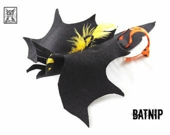 Batnip in Black - Catnip Toy